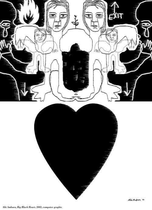 Big Black Heart