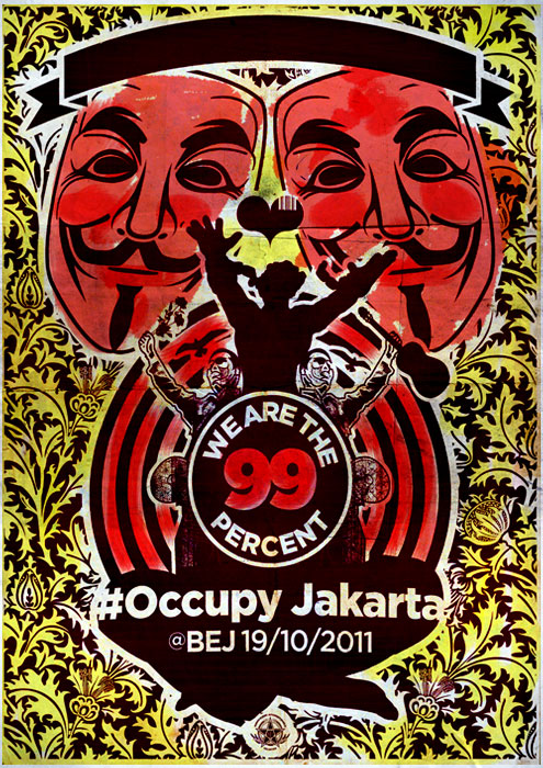 #OccupyJakarta: We are the 99 percent
