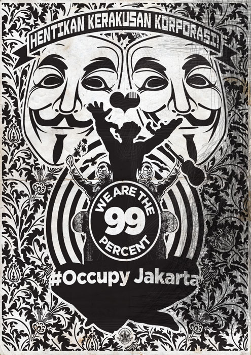 #Occupy Jakarta: Hentikan Kerakusan Korporasi!