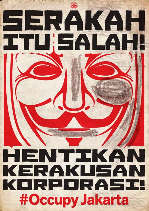 #Occupy Jakarta: Serakah Itu Salah!