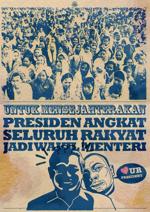 Wamen untuk rakyat...