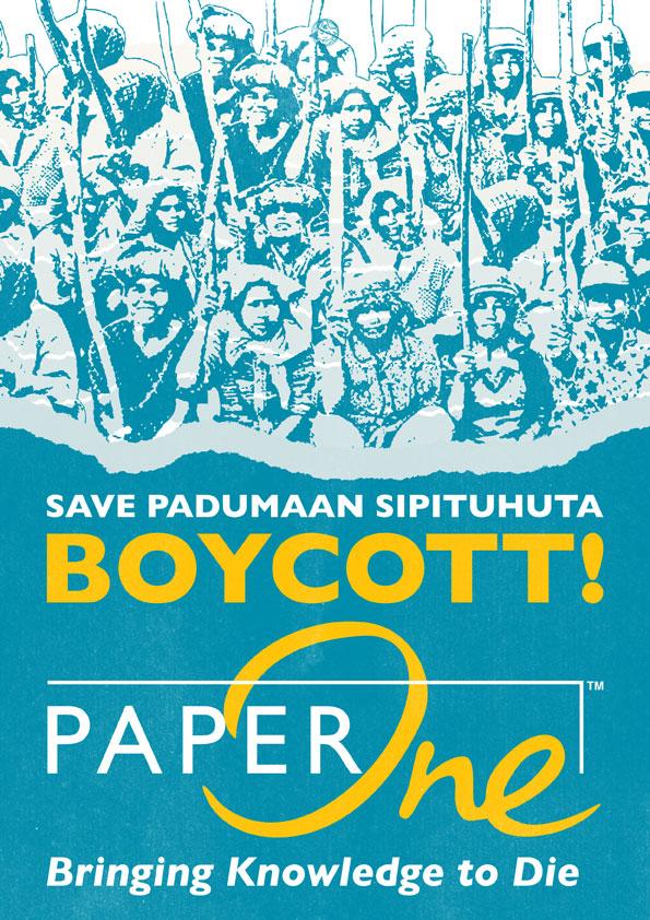 Boycott-PaperOne