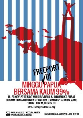 #dudukijakarta-Minggu-Papua@0